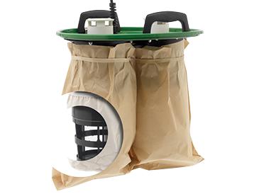 3 stopniowy system filtracji drobnego pyłu
