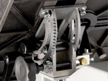 Mechanizm zębatkowy pilarki BS350S